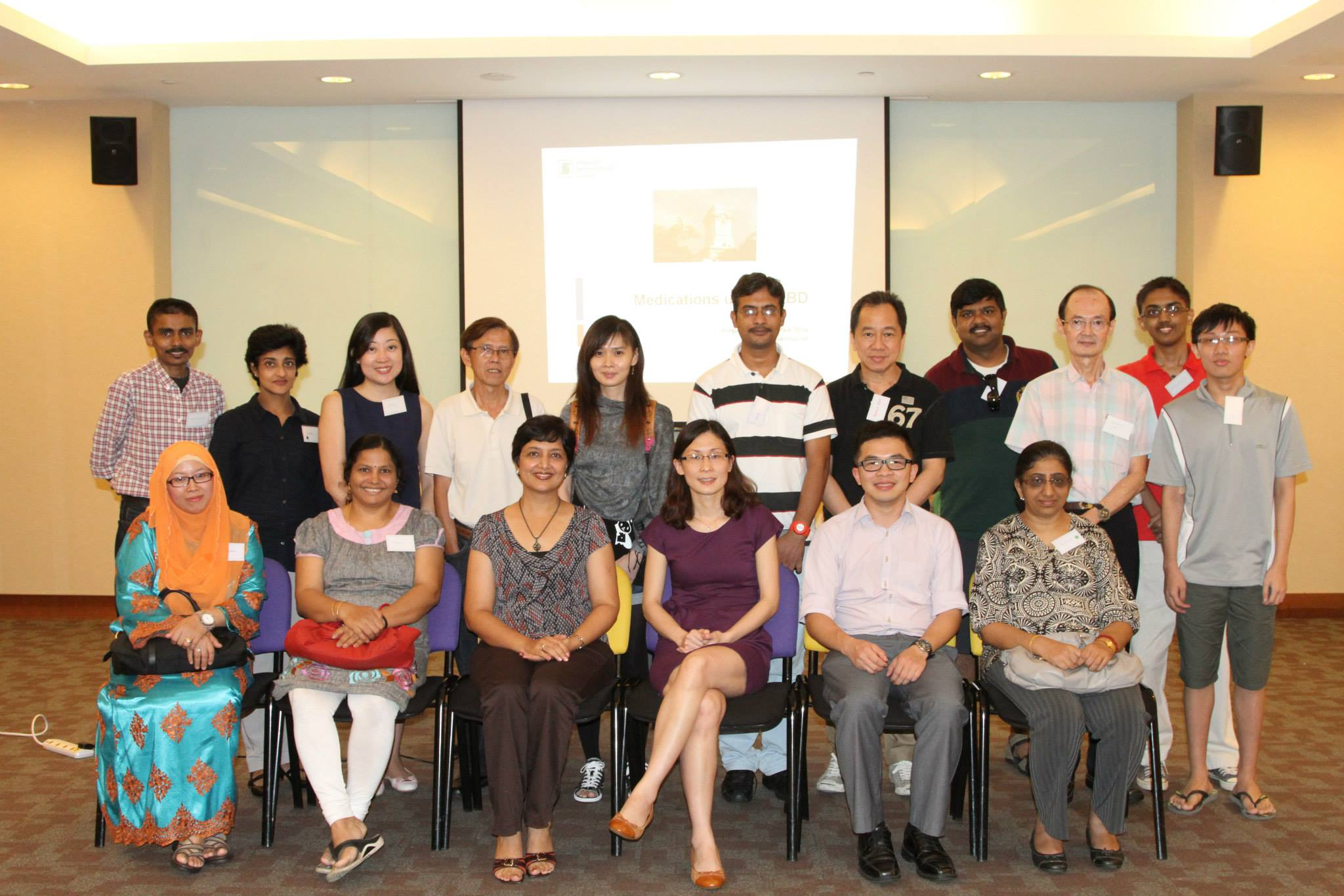 Pharmacists Ms Lim Paik Sia & Wan Choon Nam_Sept 2014